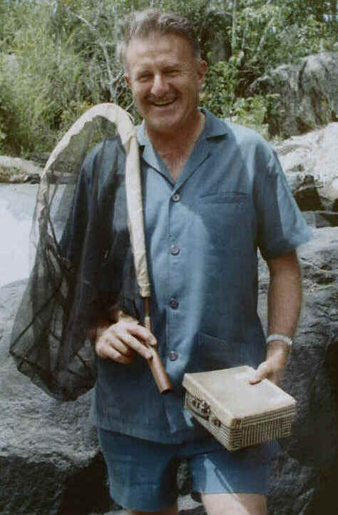 Richard Cranmer Dening, collecting in Zambia